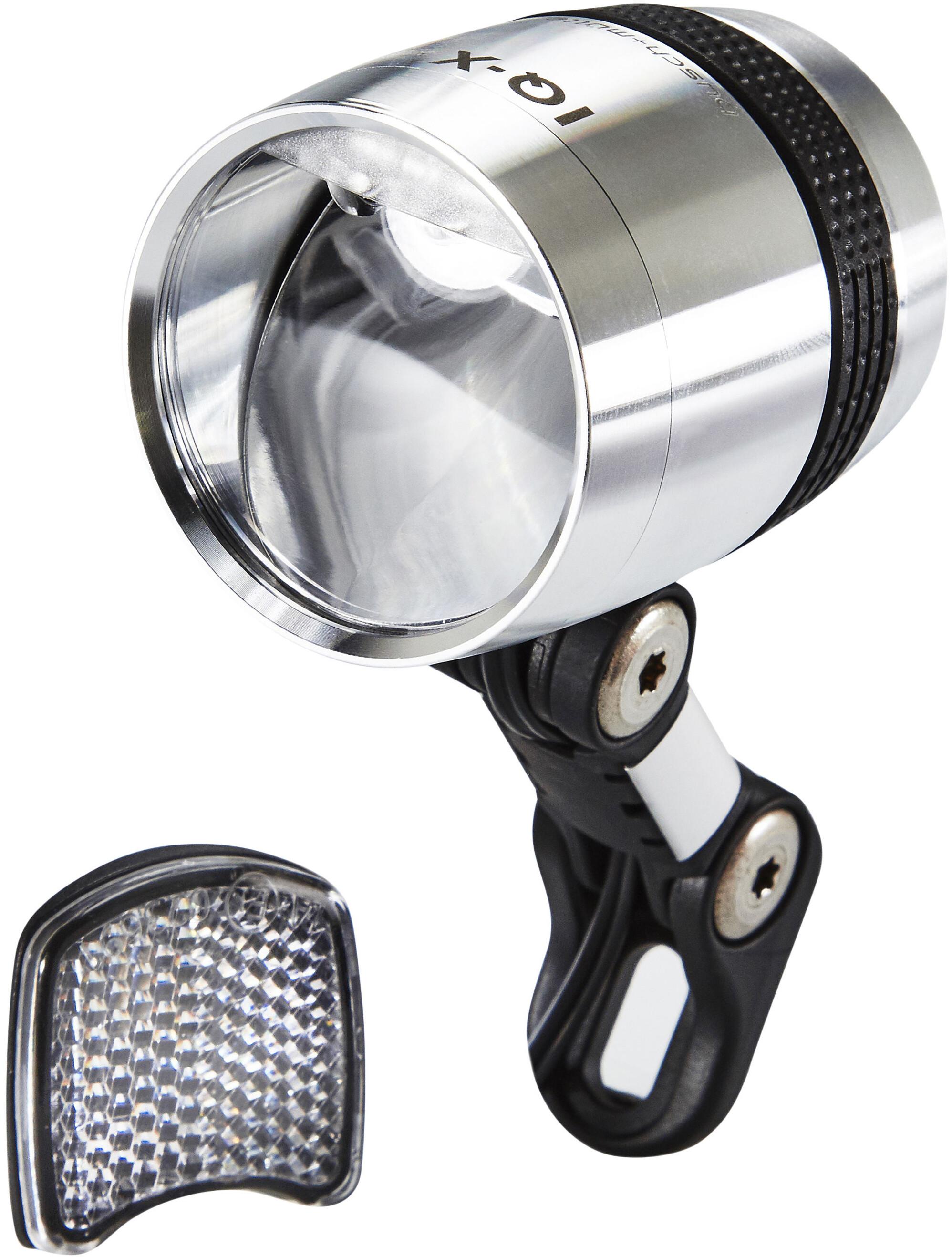 busch mller lumotec iq x fietsverlichting led zilver